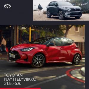 Tervetuloa tutustumaan Toyota uutuuksiin tänään Sunnuntaina klo 11-15. Koeajettavissa uusi Yaris sekä RAV4 Plug-In Hybrid  #tojo...