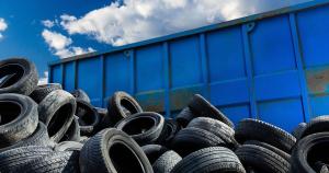 Näin autonrenkaat kierrätetään
