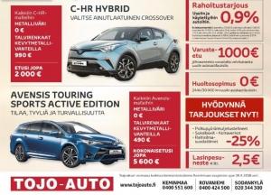 Keminmaan liikkeen avajaistarjoukset voimassa 30.4.2018 asti! Hyödynnä tuhansien eurojen avajaisedut uuden auton hankintaan sekä edullinen rahoitus myös vaihtoautoihin.