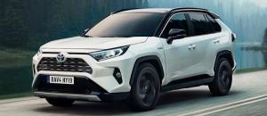 Toyota viikonloppunäyttelyssä uusi RAV4!
