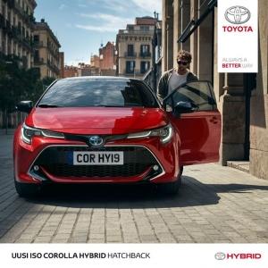 Corolla on uudestisyntynyt. Uusi Corolla Hybrid on suurenmoinen ajettava, suuri tehoiltaan ja suurenmoista siinä on myös sen design. Miksi valita, kun voi saada kaiken? #corollahybrid