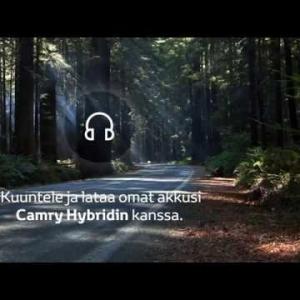 Joko olet tutustunut uuteen Toyota Camryyn? Uuden Camryn löydät Keminmaalta, Rovaniemeltä ja Sodankylästä!