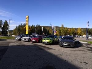 Tervetuloa koeajamaan Toyota uutuudet tänään Levillä! #levi #toyota